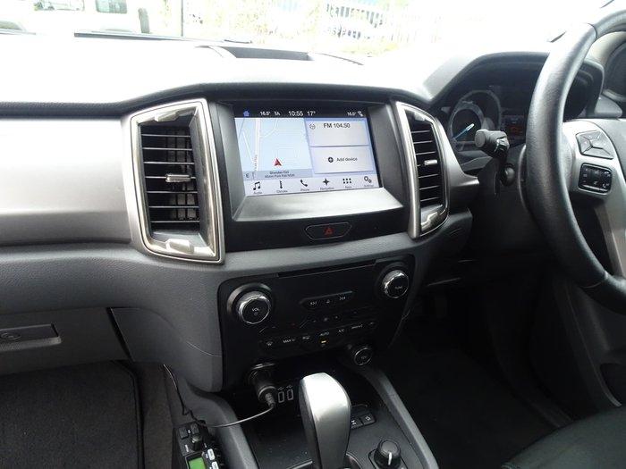 2017 Ford Ranger XLT PX MkII MY18 4X4 Dual Range White