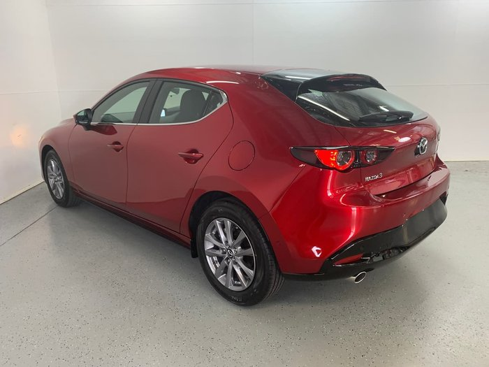 2020 Mazda 3 G20 Pure BP Series Soul Red Crystal