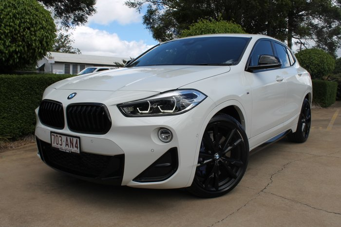 2018 BMW X2 M35i F39 Four Wheel Drive Alpine White