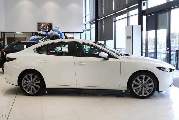 2020 Mazda 3 G25 Evolve BP Series White