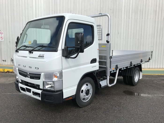 2020 FUSO CANTER 515 CITY CAB White