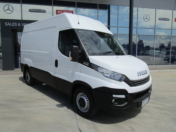 2018 IVECO DAILY 35-170 REMAINING FACTORY WARRANTY WHITE