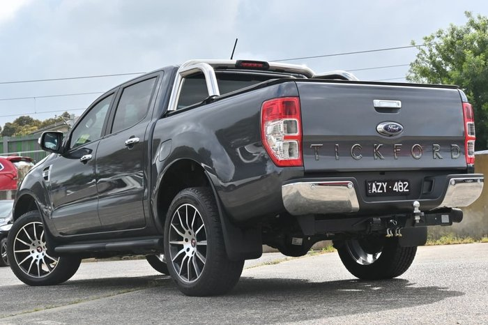 2019 Ford Ranger XLT PX MkIII MY19 4X4 Dual Range Silver