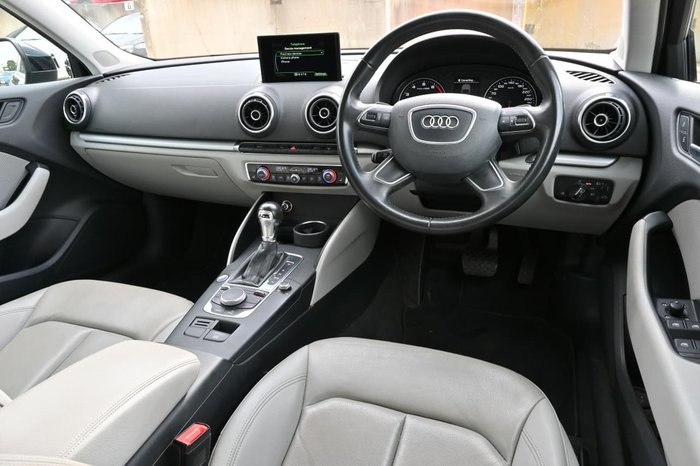 2016 Audi A3 Attraction 8V MY16 Black