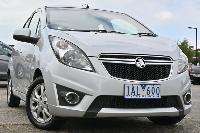 2013 Holden Barina Spark CD MJ MY13 Silver
