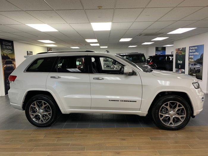 2020 Jeep Grand Cherokee Overland WK MY20 4X4 Dual Range White