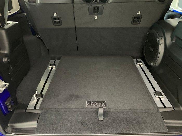 2020 Jeep Wrangler Unlimited Rubicon JL MY20 4X4 Dual Range Blue