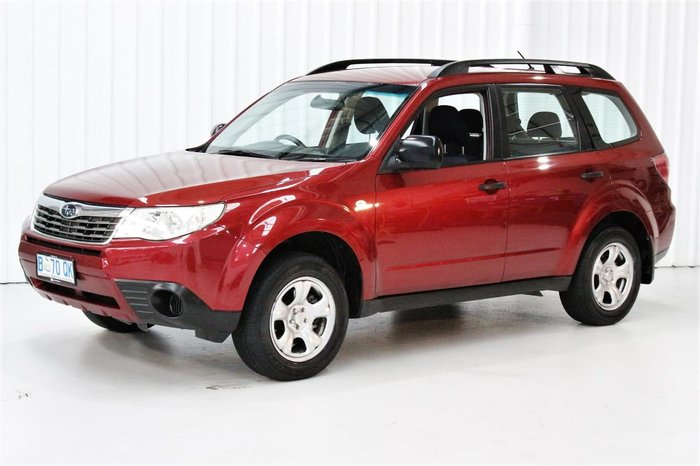 2010 Subaru Forester X S3 MY10 Four Wheel Drive Red