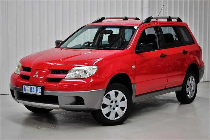 2006 Mitsubishi Outlander LS ZF MY07 4X4 Constant Red