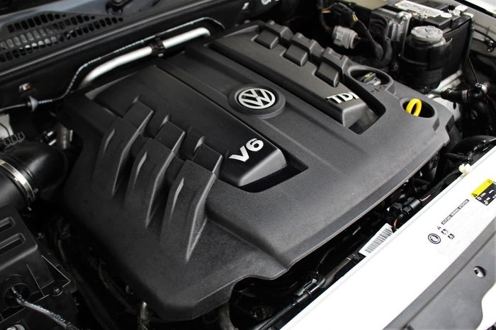 2018 Volkswagen Amarok TDI550 Ultimate 2H MY18 4X4 Constant White
