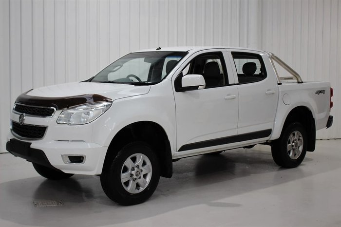 2016 Holden Colorado LS-X RG MY16 4X4 Dual Range White
