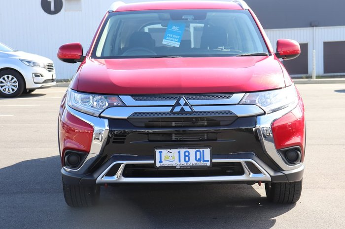 2019 Mitsubishi Outlander ES ZL MY20 4X4 On Demand Red