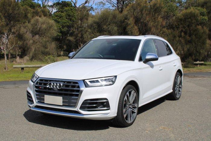 2019 Audi SQ5 FY MY19 Four Wheel Drive White