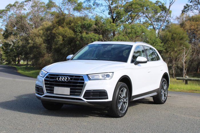 2019 Audi Q5 40 TDI design FY MY19 4X4 On Demand White