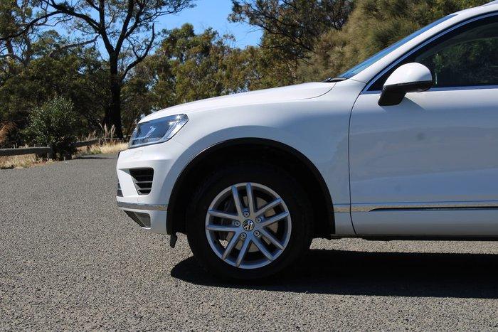 2017 Volkswagen Touareg 150TDI Element 7P MY17 Four Wheel Drive White