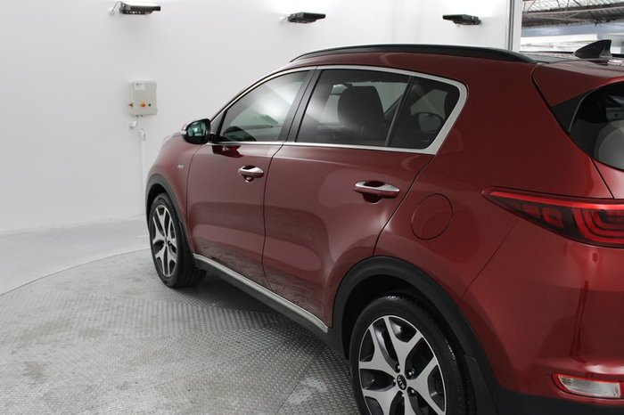 2017 Kia Sportage GT-Line QL MY18 4X4 On Demand Red