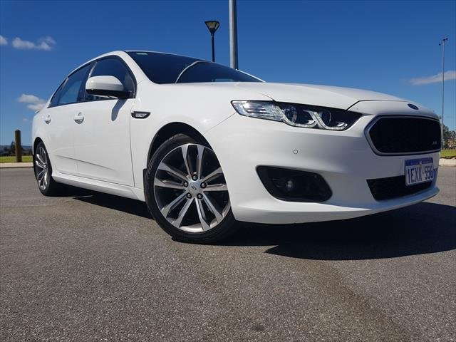 2015 Ford Falcon XR6 FG X Winter White