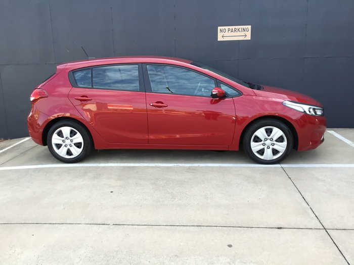 2018 Kia Cerato S BD MY19 Red