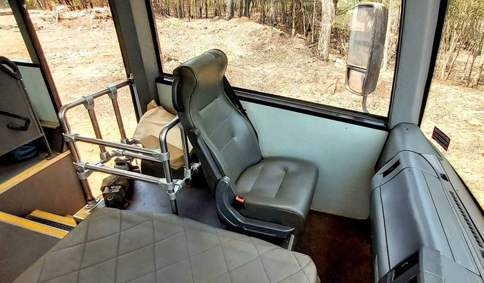2015 IBUS ISUZU BUS 28 SEATS WHITE