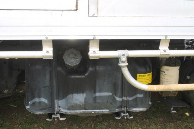 2012 Isuzu NLR200 Short Tray Top White