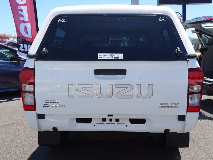 2015 Isuzu D-MAX SX MY15 4X4 Dual Range White