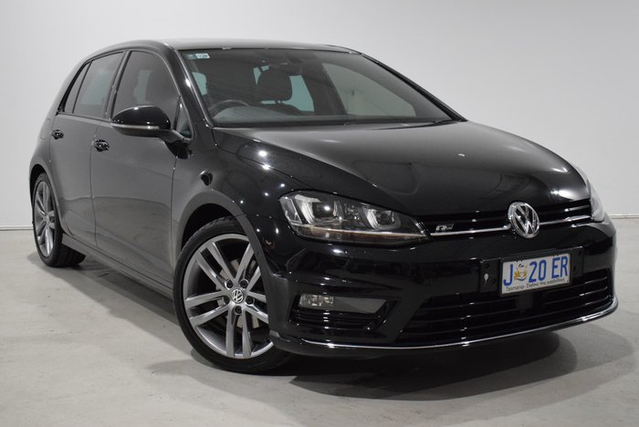 2017 Volkswagen Golf 110TSI Highline 7.5 MY17 Black