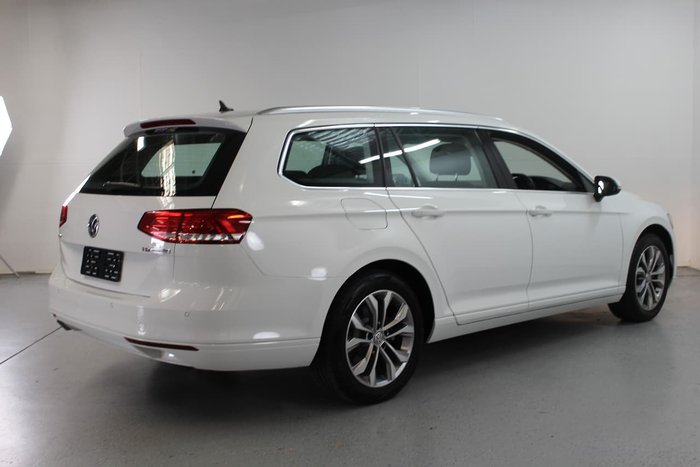 2017 Volkswagen Passat 132TSI B8 MY17 White