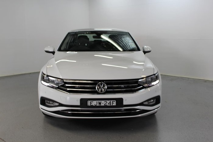 2020 Volkswagen Passat 140TSI Business B8 MY20 White