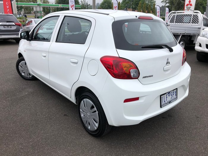 2017 Mitsubishi Mirage ES LA MY17 White
