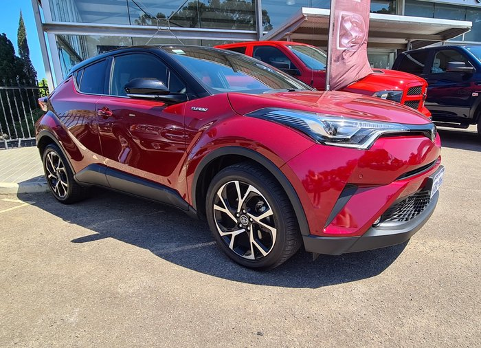 2018 Toyota C-HR Koba NGX10R Red