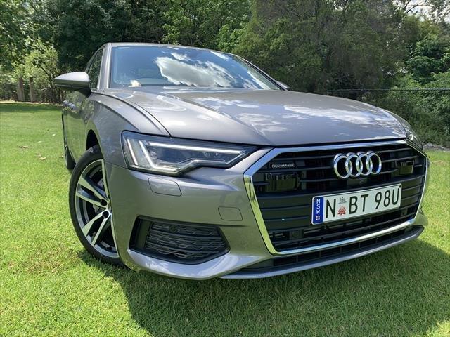 2019 Audi A6 45 TFSI 4A MY20 4X4 On Demand Typhoon Grey Metallic