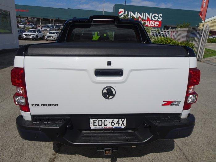 2016 Holden Colorado Z71 RG MY16 4X4 Dual Range White