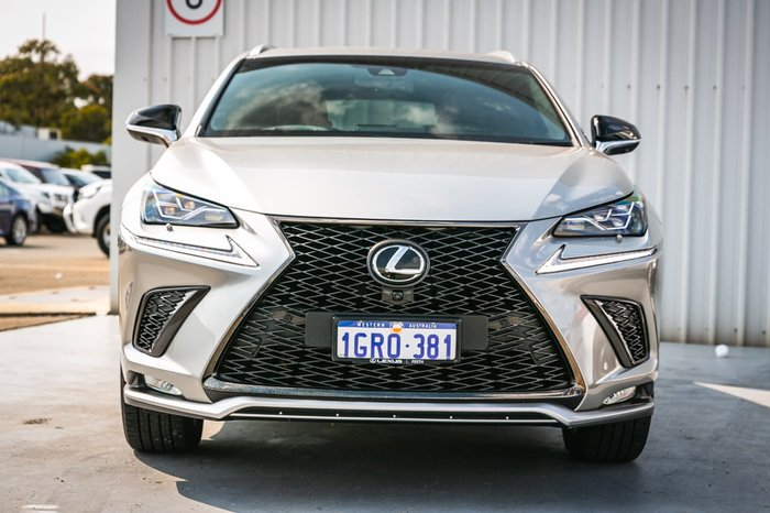 2018 Lexus NX NX300 F Sport AGZ15R 4X4 On Demand Grey