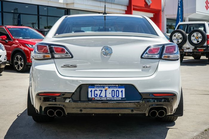 2016 Holden Commodore SS V VF Series II MY16 White