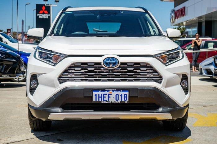 2019 Toyota RAV4 Cruiser AXAH54R 4X4 On Demand White