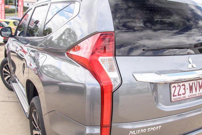 2016 Mitsubishi Pajero Sport Exceed QE MY17 4X4 Dual Range Grey