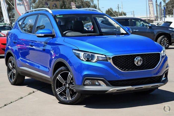 2020 MG ZS Essence AZS1 MY19 Regal Blue