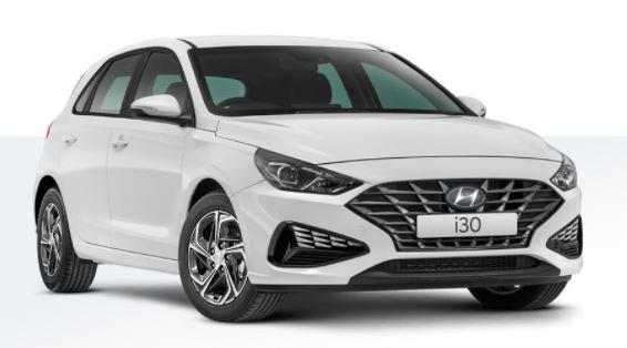 2020 HYUNDAI i30 MY21 PD.V4 i30 HATCH 2.0P AUTO Polar White Solid