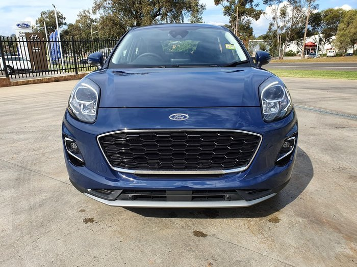 2020 Ford Puma JK MY20.75 Blue