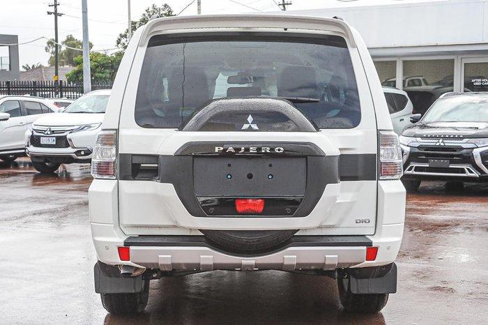 2020 Mitsubishi Pajero GLS Leather Option NX MY20 4X4 Dual Range White