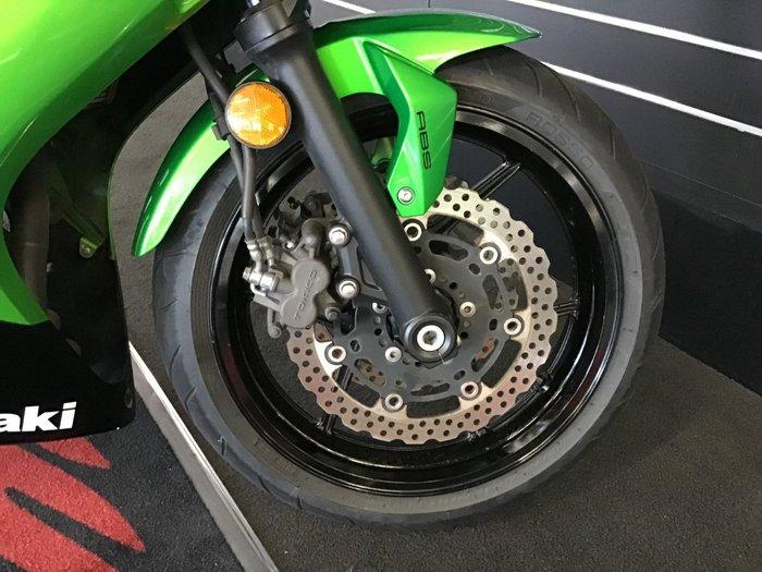 2013 Kawasaki NINJA 650 Green