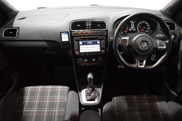 2013 Volkswagen Polo GTI 6R MY13.5 White