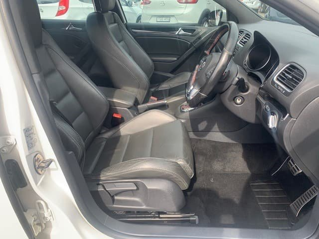 2010 Volkswagen Golf GTI VI MY11 White