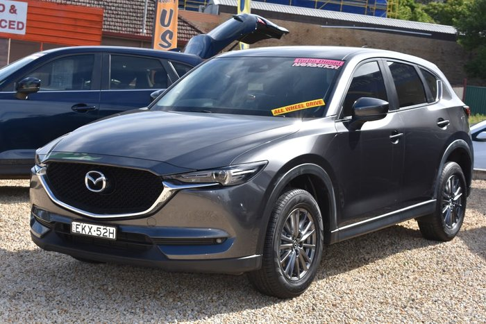 2017 Mazda CX-5 Maxx Sport KF Series 4X4 On Demand Grey