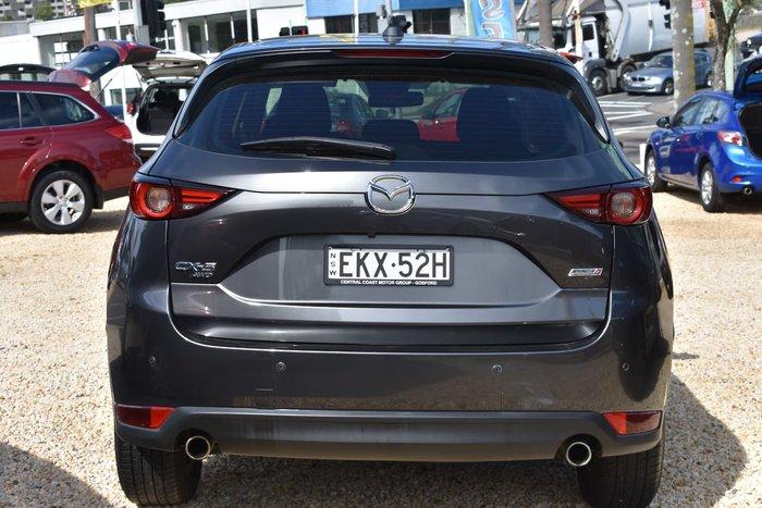 2017 Mazda CX-5 Maxx Sport KF Series 4X4 On Demand Grey