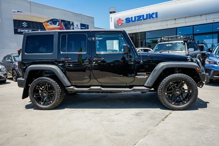 2011 Jeep Wrangler Unlimited Sport JK MY10 4X4 Black