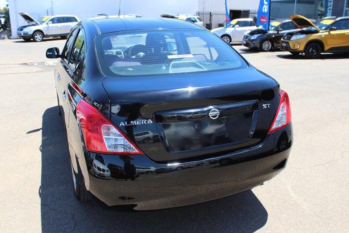 2013 Nissan Almera ST N17 Black