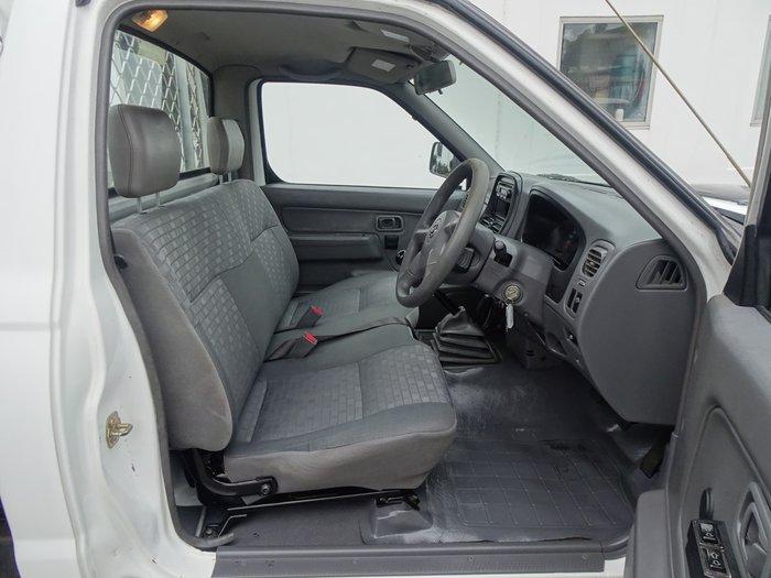 2009 Nissan Navara DX D22 MY09 White