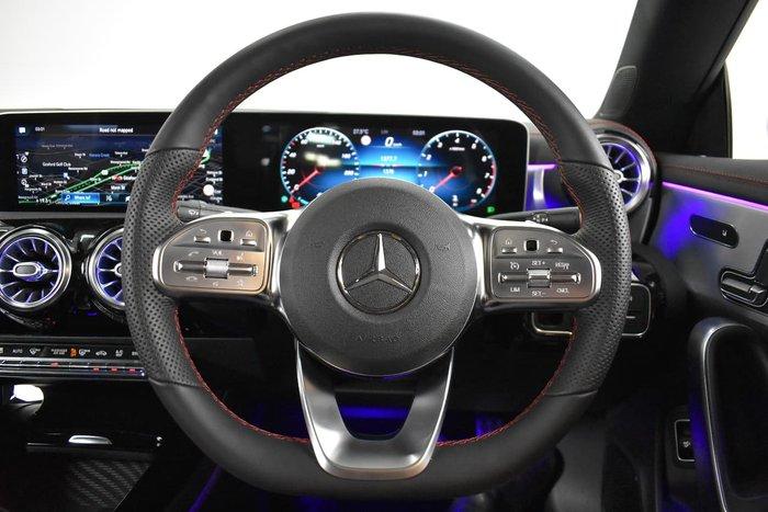 2019 Mercedes-Benz CLA-Class CLA200 C117 White