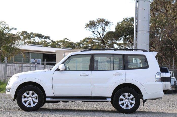 2019 Mitsubishi Pajero GLX NX MY19 4X4 Dual Range White